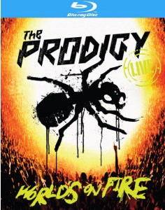 The Prodigy - World's On Fire (Frontcover Bluray)