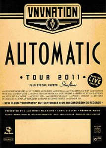 VNV Nation - Automatic Tour 2011/2012