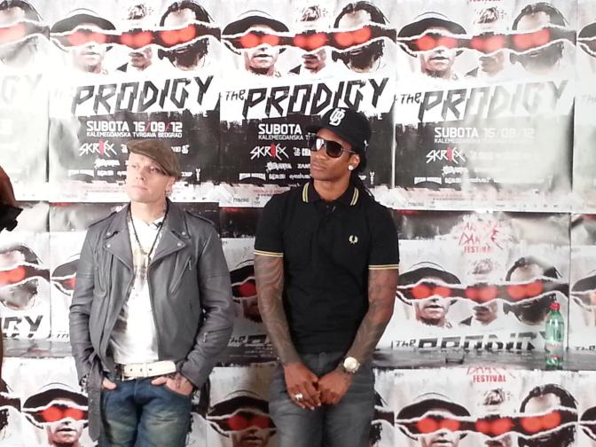 The Prodigy auf Stippvisite in Belgrad